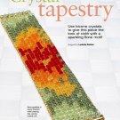 Z313 Bead PATTERN ONLY Sparkling Floral Motif Crystal Tapestry Bracelet Pattern