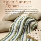 Z324 Crochet PATTERN ONLY Easy Tunisian Aspen Summer Afghan Pattern