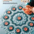 Z327 Crochet PATTERN ONLY Chantilly Lace Floral Doily Pattern