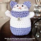 Z335 Crochet PATTERN ONLY Good Fortune Kitty Feng Shui-inspired Good Luck Pattern