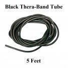 1 Black Thera-Band Theraband Tube, 5 Feet, Brand New!!!