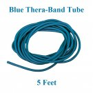 1 Blue Thera-Band Theraband Tube, 5 Feet, Brand New!!!