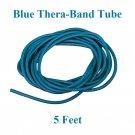 1 Blue Thera-Band Theraband Tube, 5 Feet, Brand New!!!