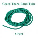 1 Green Thera-Band Theraband Tube, 5 Feet, Brand New!!!