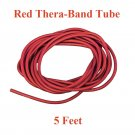 1 Red Thera-Band Theraband Tube, 5 Feet, Brand New!!!