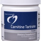 Carnitine Tartrate Powder - 100 Grams - Designs for Health