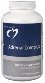 Adrenal Complex - 240 Vegetarian Capsules - Designs for Health