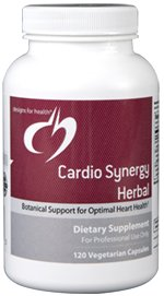 Cardio Synergy Herbal - 120 Vegetarian Capsules - Designs for Health