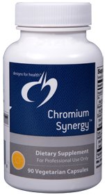 Chromium Synergy - 90 Vegetarian Capsules - Designs for Health