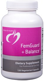 FemGuard+Balance - 120 Vegetarian Capsules - Designs for Health