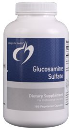 Glucosamine Sulfate 1000 mg - 180 Vegetarian Capsules - Designs for Health