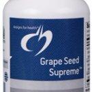 Grape Seed Supreme - 60 Vegetarian Capsules - Designs for Health