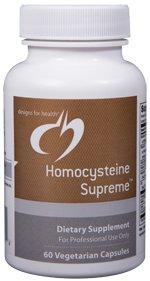Homocysteine Supreme - 60 Vegetarian Capsules - Designs for Health