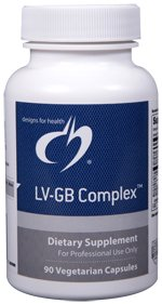 LV-GB (Liver-Gallbladder) Complex - 90 Vegetarian Capsules - Designs for Health