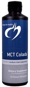 MCT Colada Liquid - 16 fl oz - Designs for Health
