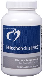 Mitochondrial NRG - 120 Vegetarian Capsules - Designs for Health