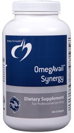 OmegAvail Synergy - 180 Softgels - Designs for Health