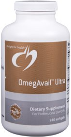 OmegAvail Ultra - 240 Softgels - Designs for Health