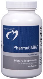 PharmaGABA - 60 Chewables - Designs for Health