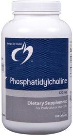 Phosphatidylcholine 420 mg - 180 Softgels - Designs for Health
