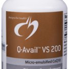 Q-Avail VS 200 mg - 60 Softgels - Designs for Health