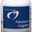 Policosanol + Gugulipid - 60 Vegetarian Capsules - Designs for Health