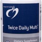 Twice Daily Multi - 240 Vegetarian Capsules - Designs for Health