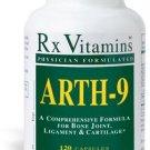 Arth-9 - 120 Capsules - Rx Vitamins