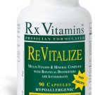 ReVitalize No Iron - 90 Capsules - Rx Vitamins