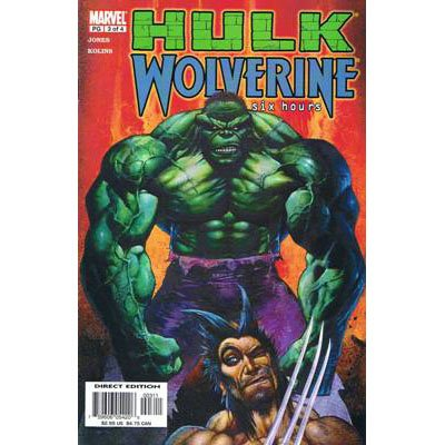 Hulk / Wolverine: Six Hours #3 (Comic Book) - Marvel Comics - Bruce Jones & Scott Kolins