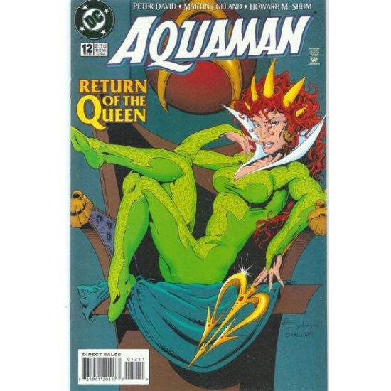 Aquaman Vol 5, #12 (Comic Book) - DC Comics - by Peter David, Martin Egeland, Howard Shum