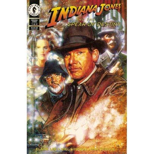 Indiana Jones and the Spear of Destiny #1 (Comic Book) - Dark Horse Comics