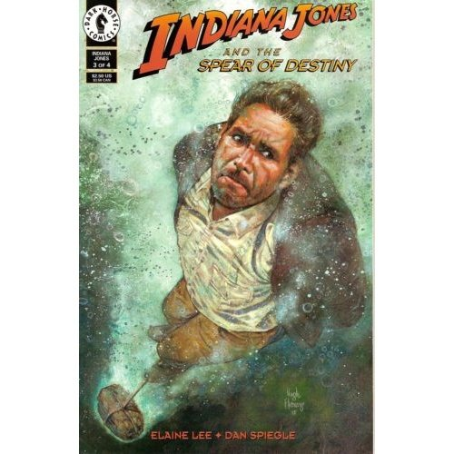 Indiana Jones and the Spear of Destiny #3 (Comic Book) - Dark Horse Comics