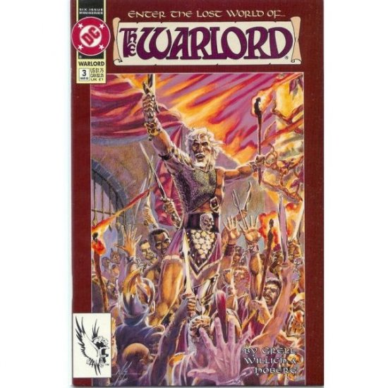 Warlord, Vol. 2 #3 (Comic Book) - DC Comics - Mike Grell