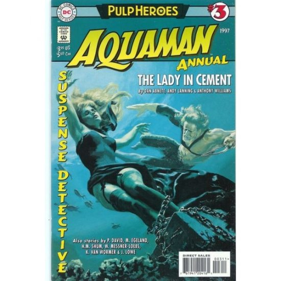 "Aquaman Vol. 5 Annual #3: ""Pulp Heroes"" (Comic Book) - DC Comics - David, Egeland & Shum"