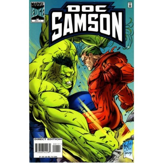 Doc Samson, Vol. 1 #1 (Comic Book) - Marvel Comics - Dan Slott, Ken Lashley, Tom Wegargyn