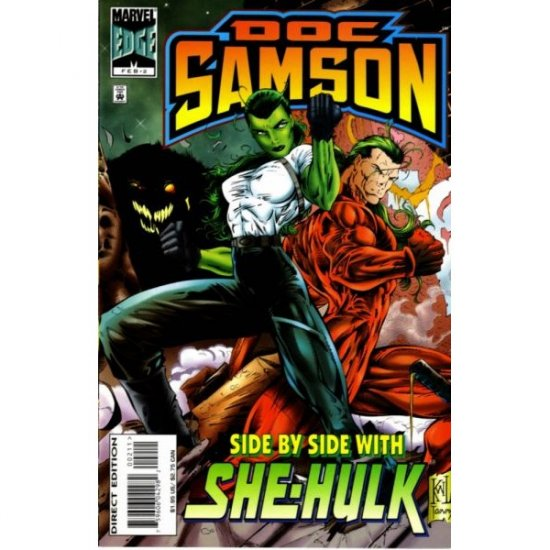 Doc Samson, Vol. 1 #2 (Comic Book) - Marvel Comics - Dan Slott, Ken Lashley