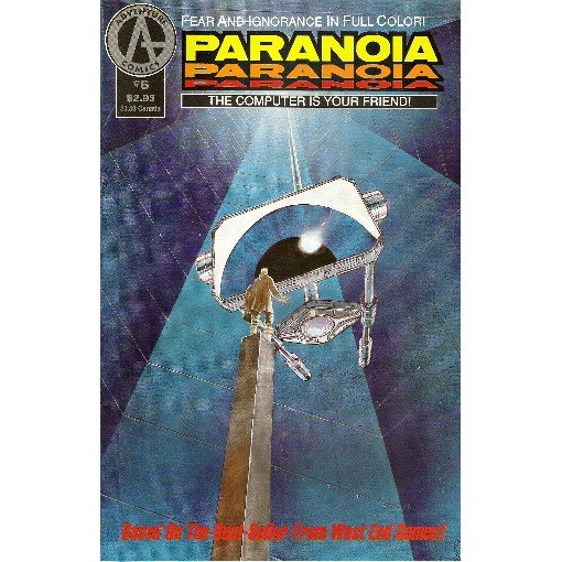 Paranoia #6 (Comic Book) - Adventure - Paul O'Conner & Hector
