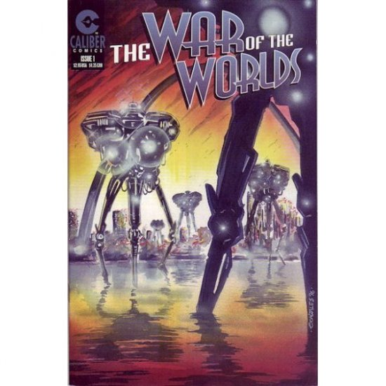 The War of the Worlds #1 (Comic Book) - Caliber Comics - Randy Zimmerman, Horus
