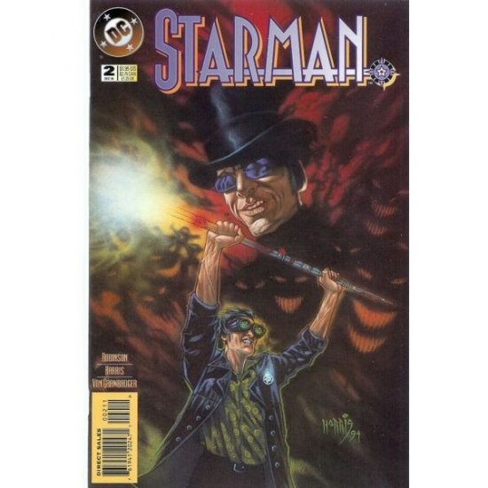 Starman, Vol. 2 #2 (Comic Book) - DC Comics - James Robinson, Tony Harris
