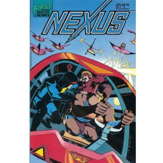 Nexus, Vol. 2 #7 (Comic Book) - First Comics - Mike Baron, Steve Rude