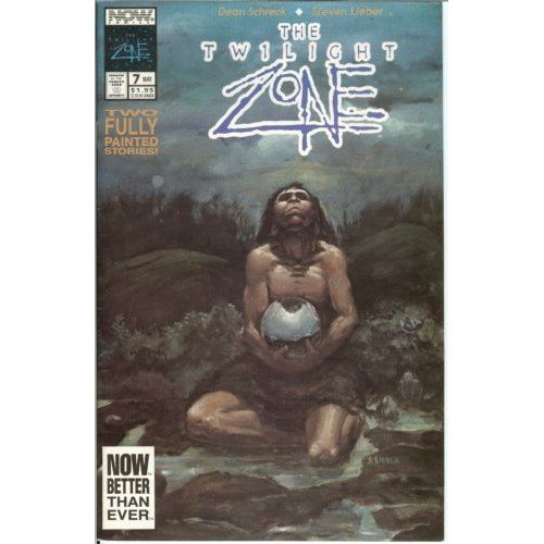 Twilight Zone, Vol. 2 #7 (Comic Book) - Now Comics - Dean Schreck, Steve Lieber