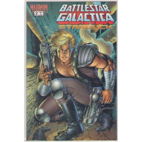 Battlestar Galactica: Starbuck #2 (Comic Book) - Maximum Press - Robert Place Napton, Rob Liefeld