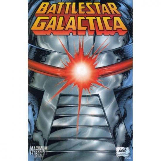 Battlestar Galactica: War of Eden #2 (Comic Book) - Maximum Press - Robert Place Napton, Rob Liefeld
