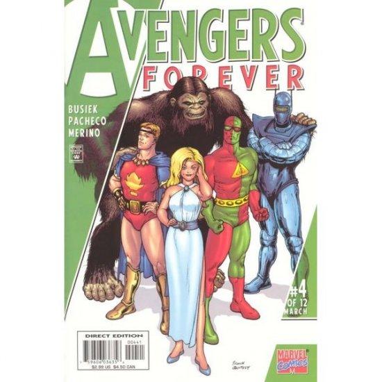 Avengers Forever #4 (Comic Book) - Marvel Comics - Kurt Busiek, George Perez