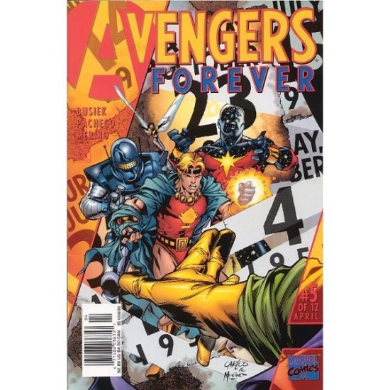 Avengers Forever #5 (Comic Book) - Marvel Comics - Kurt Busiek, George Perez