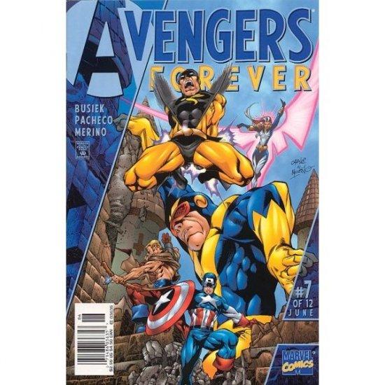 Avengers Forever #7 (Comic Book) - Marvel Comics - Kurt Busiek, George Perez