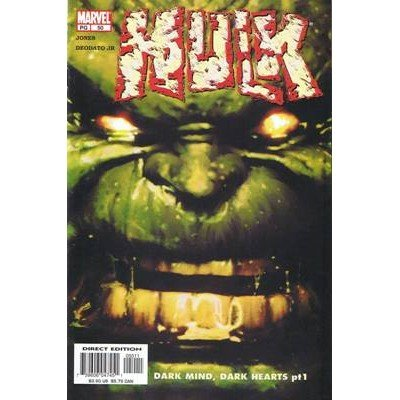 The Incredible Hulk, Vol. 2 #50 (Comic Book) - Marvel Comics - Bruce Jones, Mike Deodato Jr.
