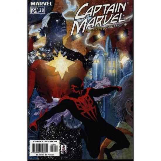 Captain Marvel Vol. 5 #28 (Comic Book) - Marvel Comics - Peter David, Chris Batista