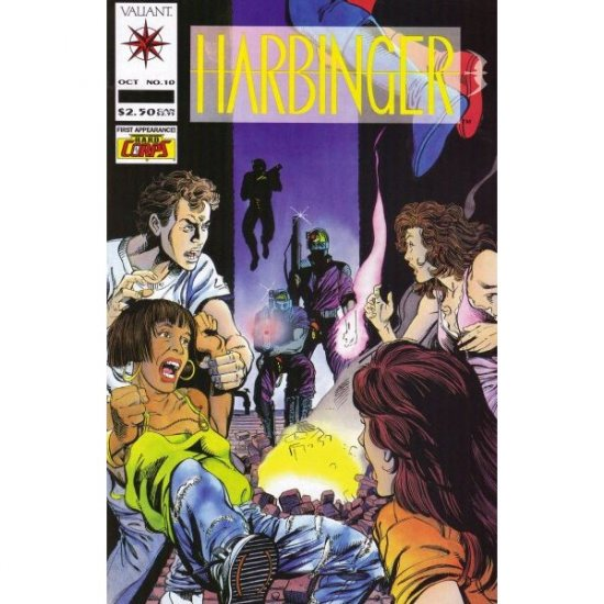 Harbinger #10 - New Beginnings (Comic Book) - Valiant Comics